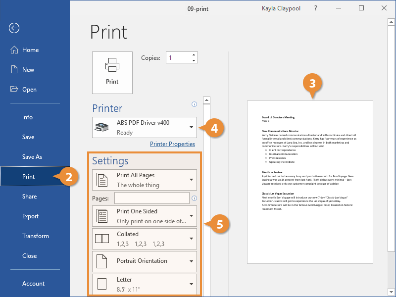 Print a Document