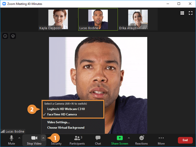 Configure your Audio and Video
