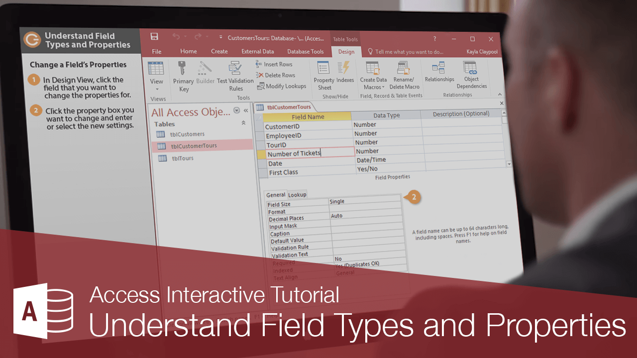 Understand Field Types and Properties