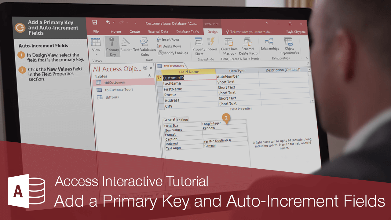 Add a Primary Key and Auto-Increment Fields