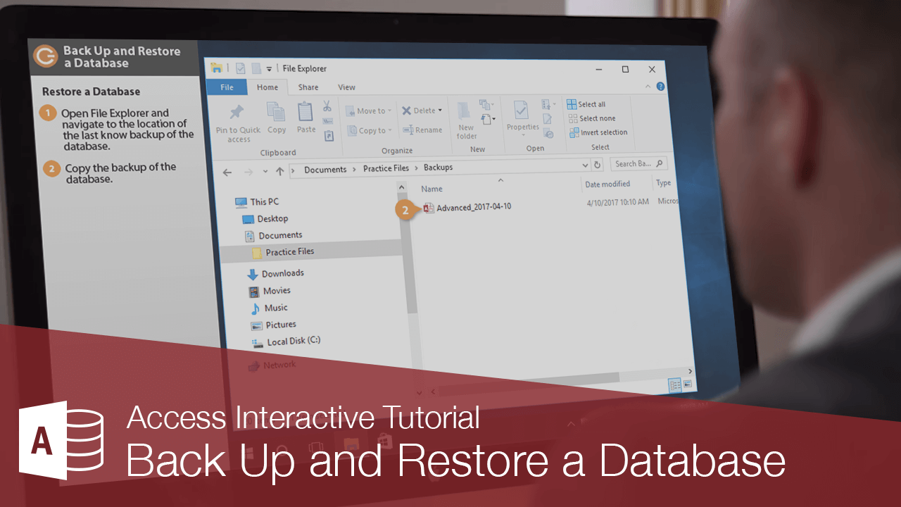 Back Up and Restore a Database