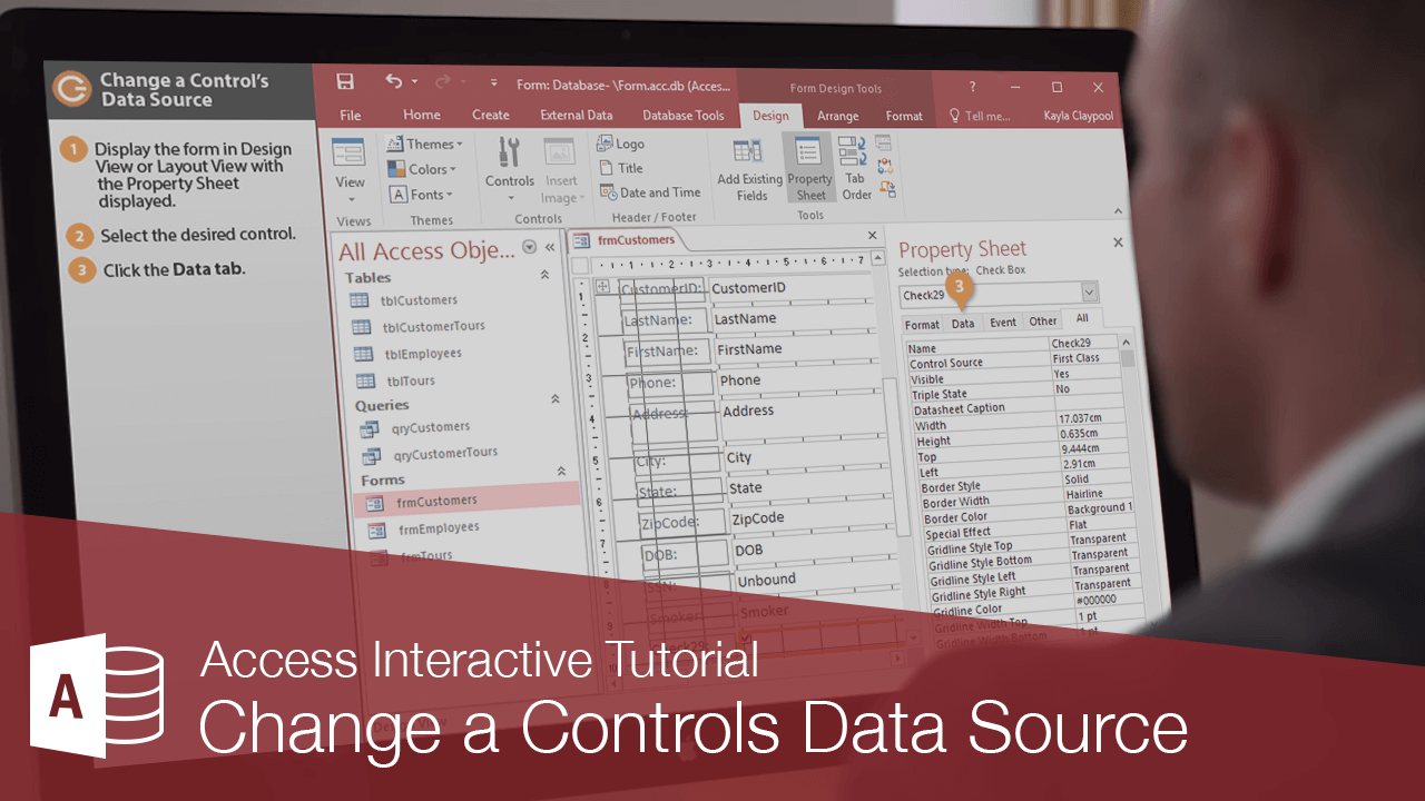 Change a Controls Data Source