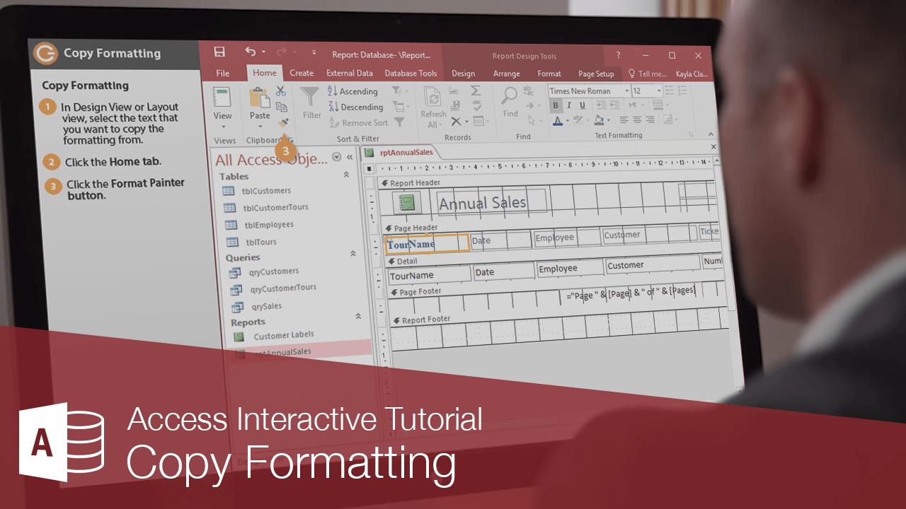 Copy Formatting