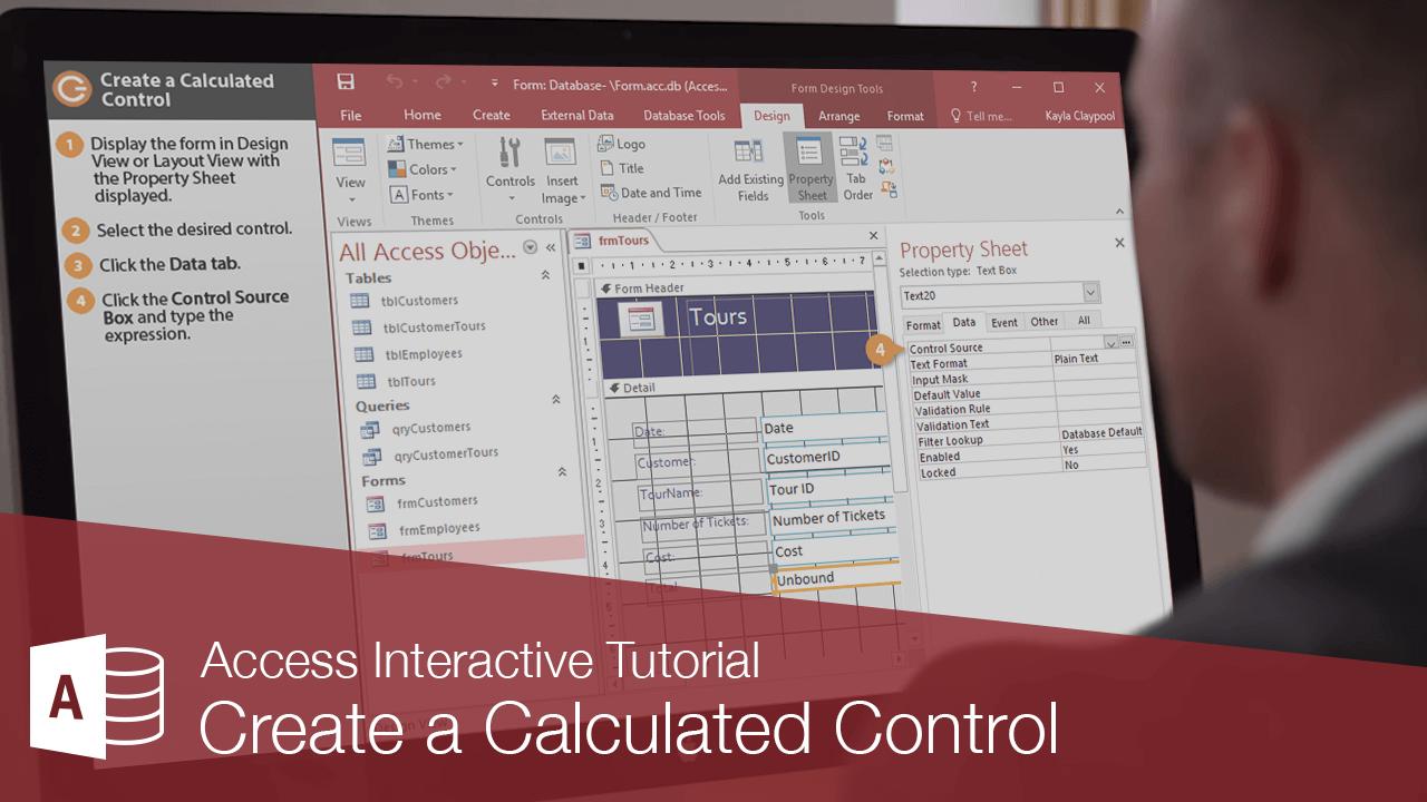 Create a Calculated Control