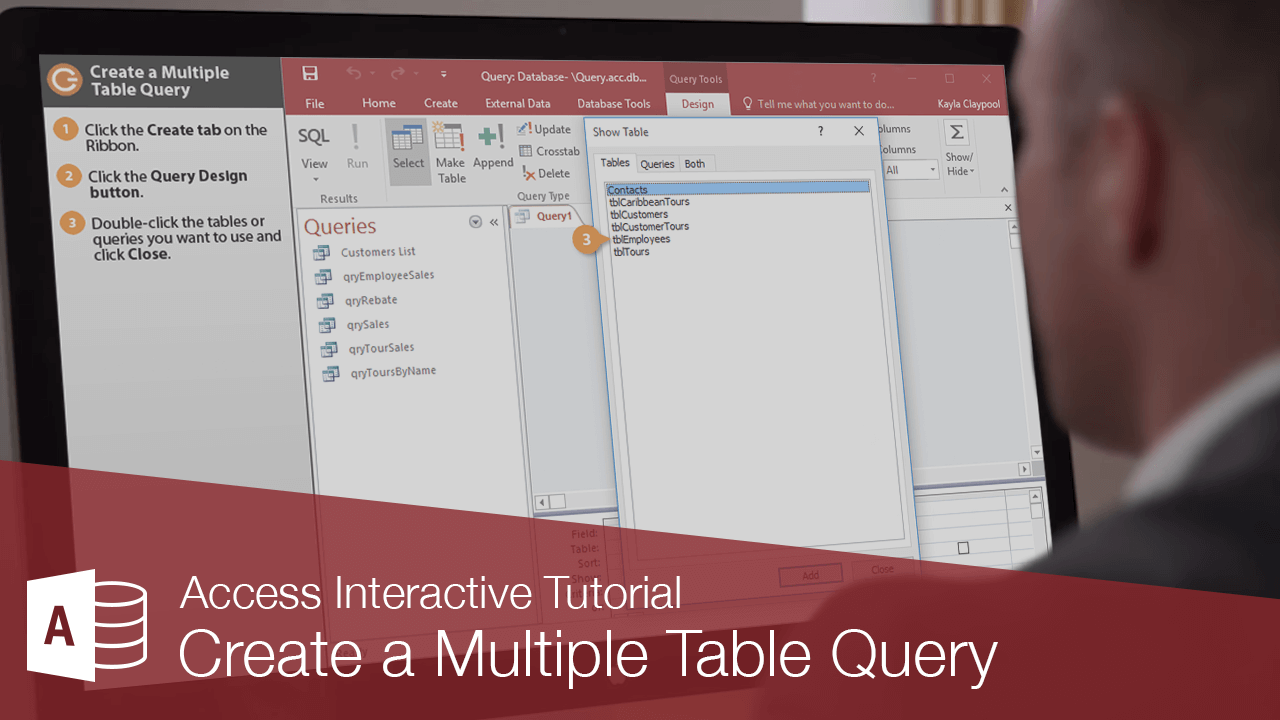 Create a Multiple Table Query