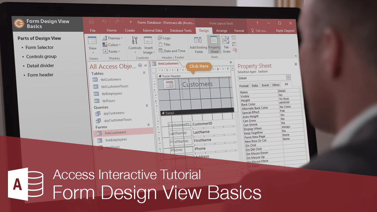 Form Design View Basics
