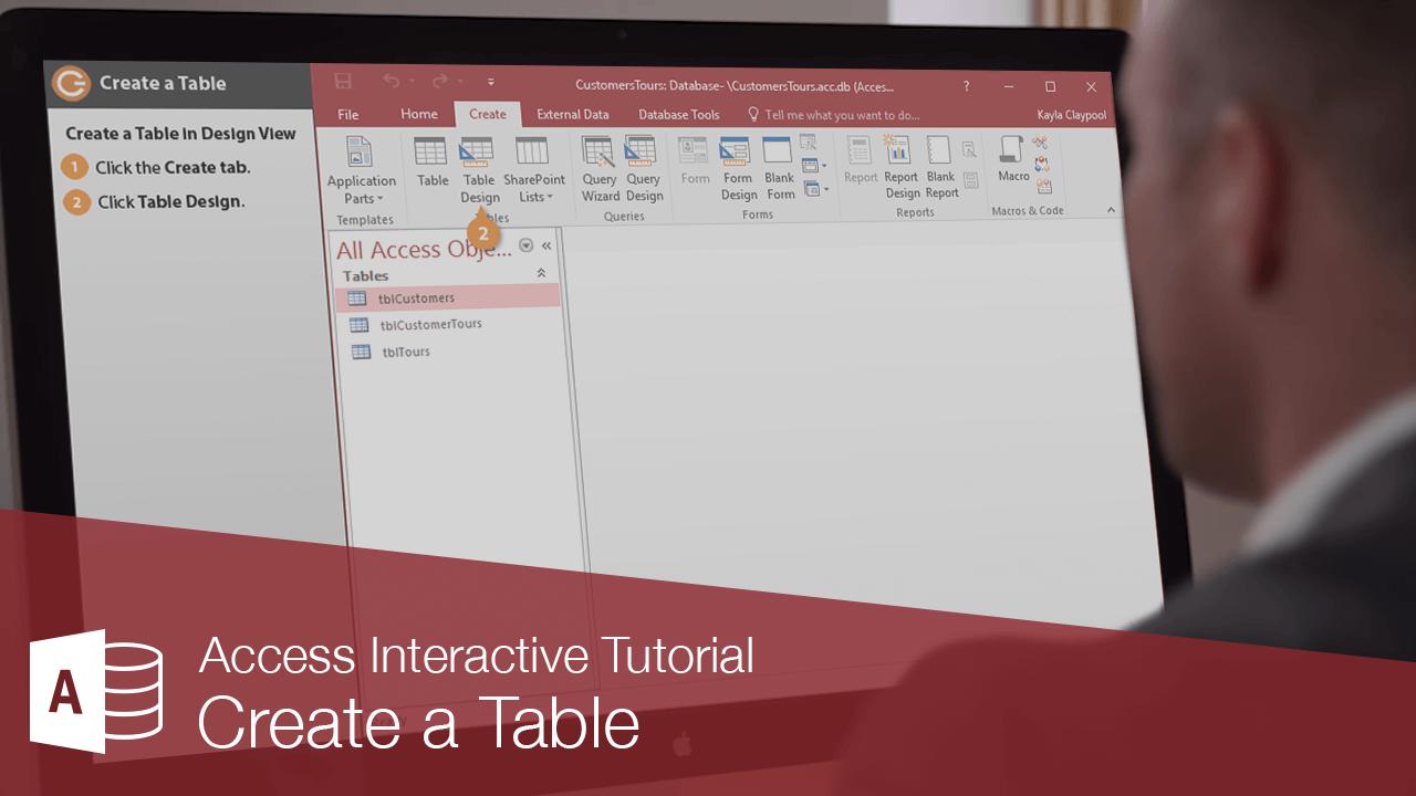 Create a Table