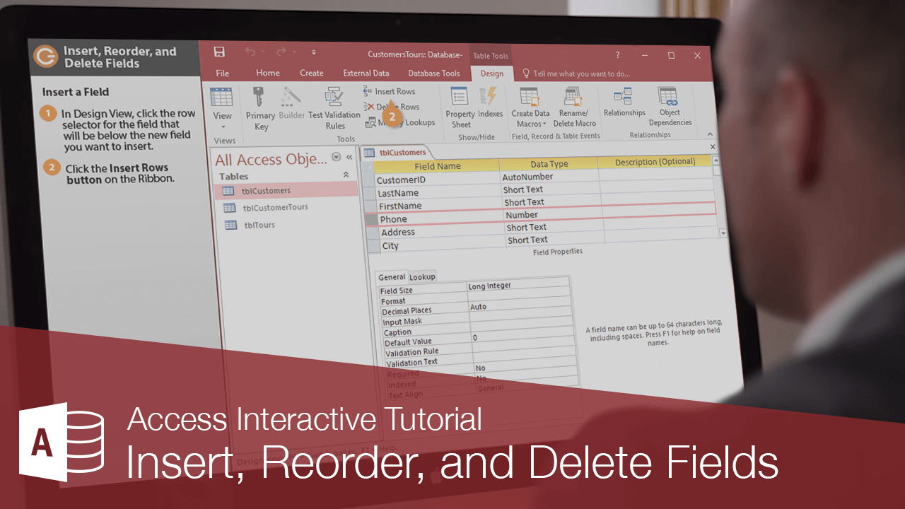 Insert, Reorder, and Delete Fields