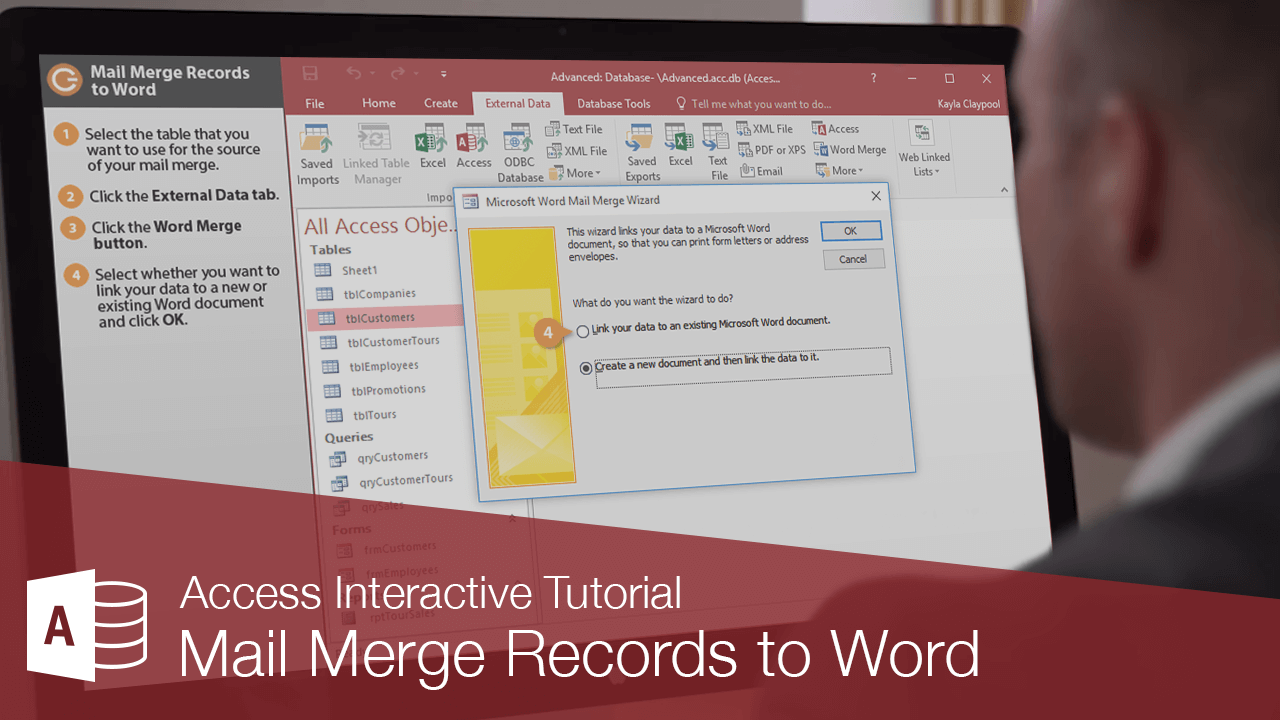 Mail Merge Records to Word