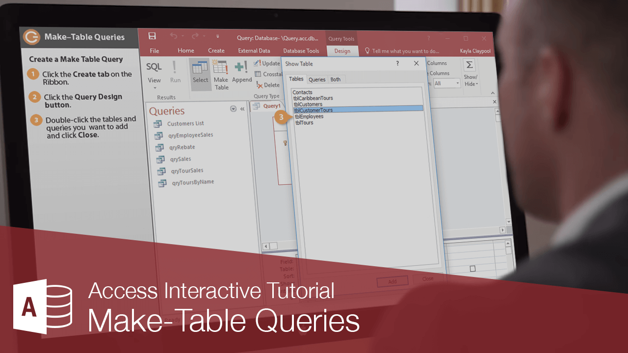 Make Table Queries