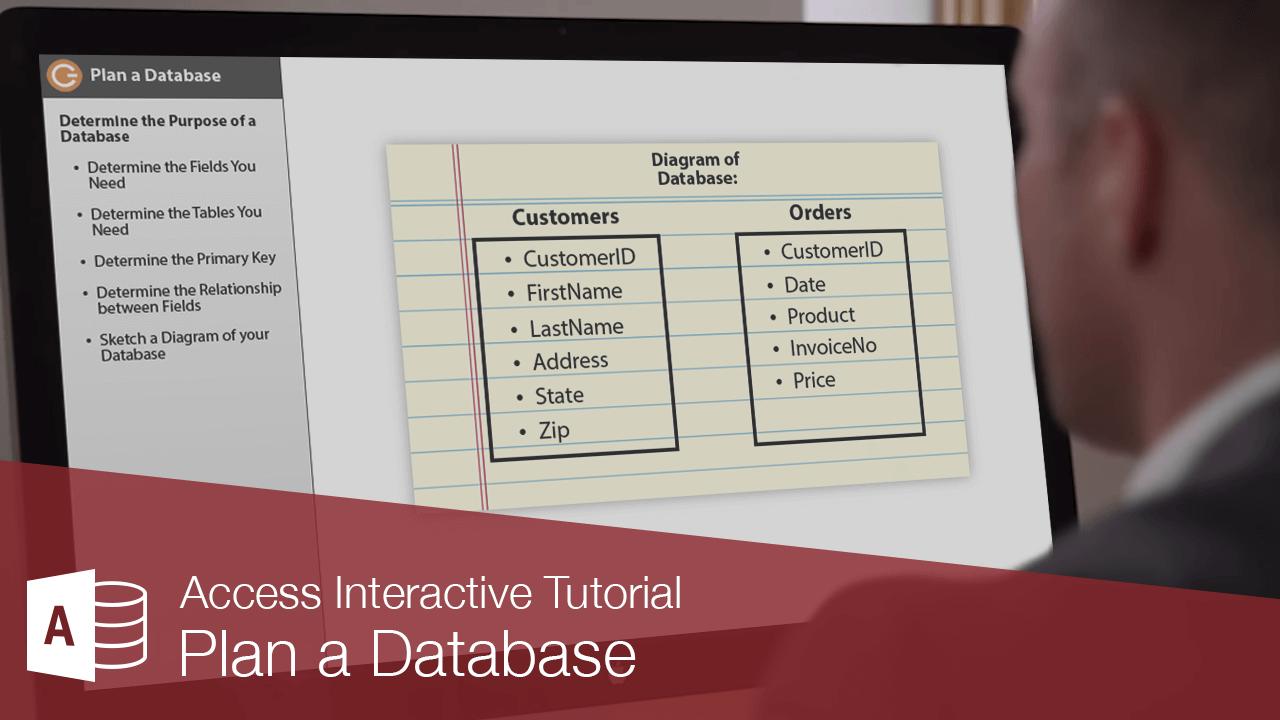 Plan a Database