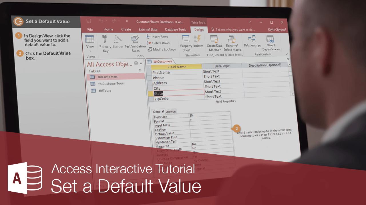 Set a Default Value