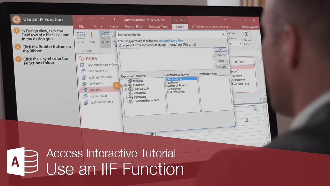 Use an IIF Function