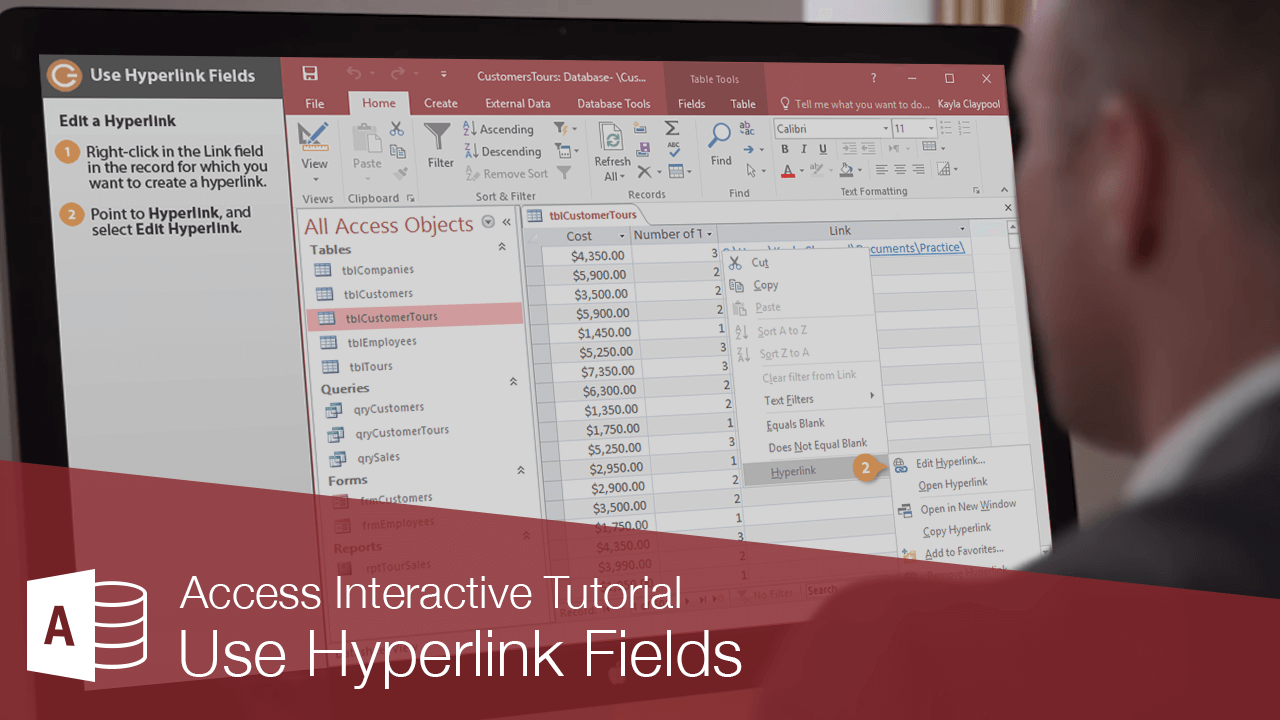 Use Hyperlink Fields