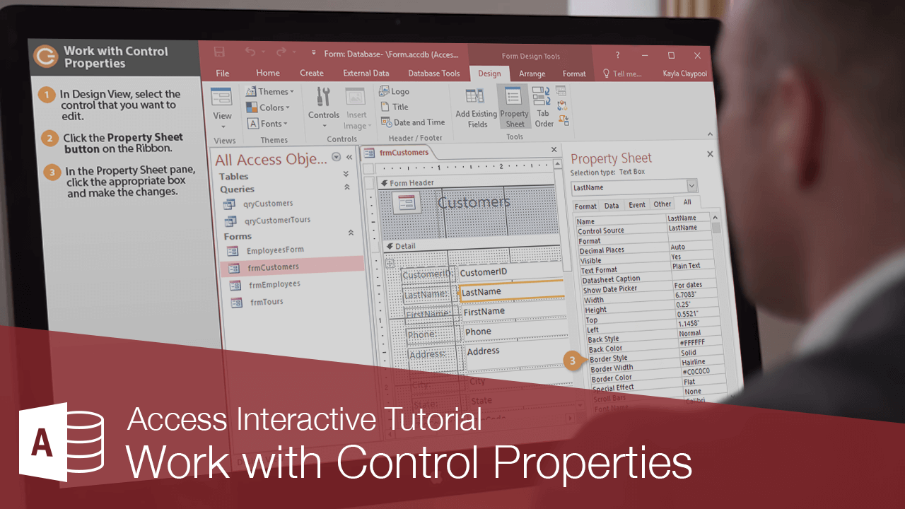 Work with Control Properties