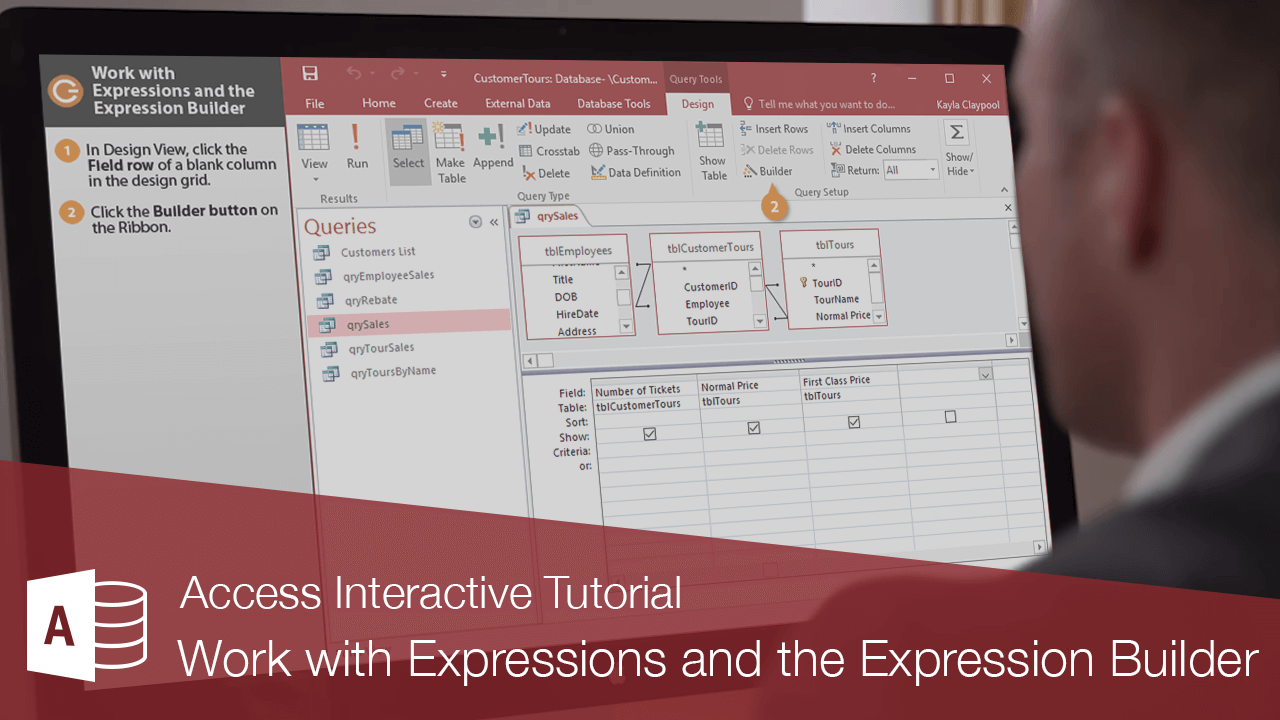 Work with Expressions and the Expression Builder