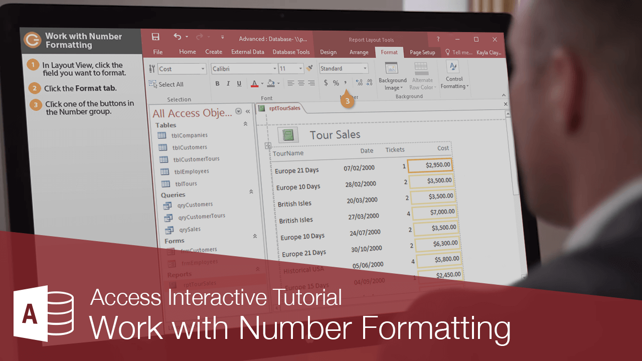 Work with Number Formatting
