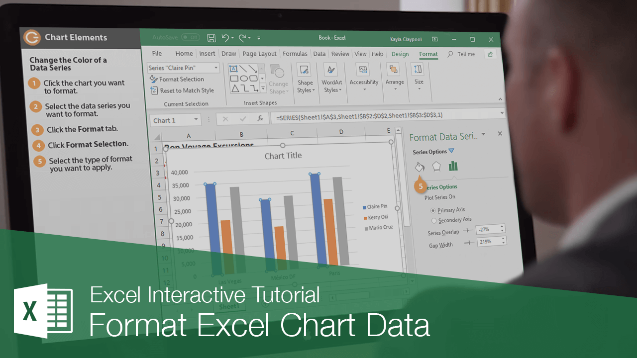 Format Excel Chart Data