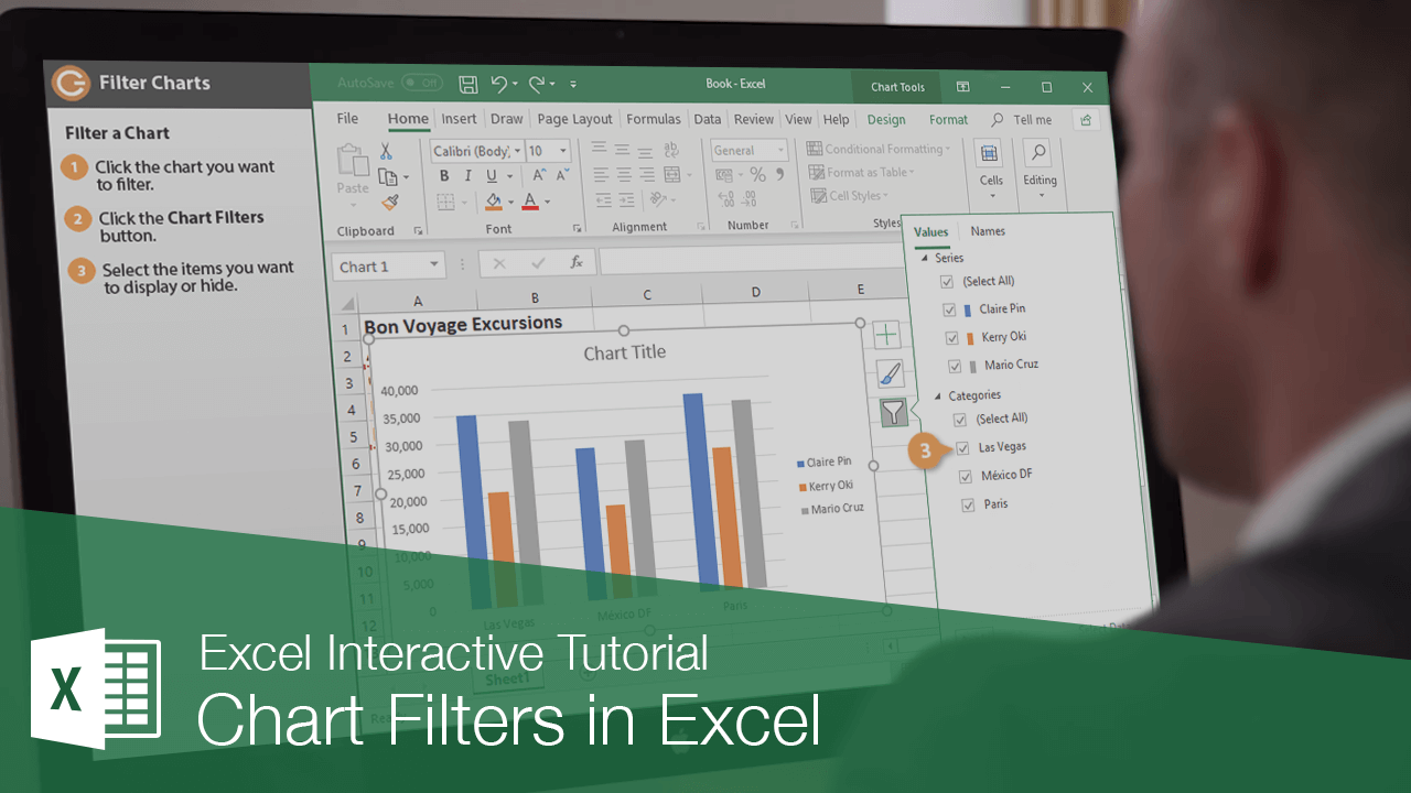 Chart Filters in Excel