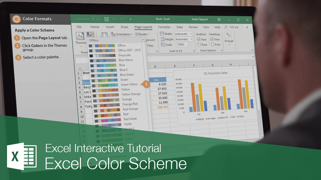 Excel Color Scheme