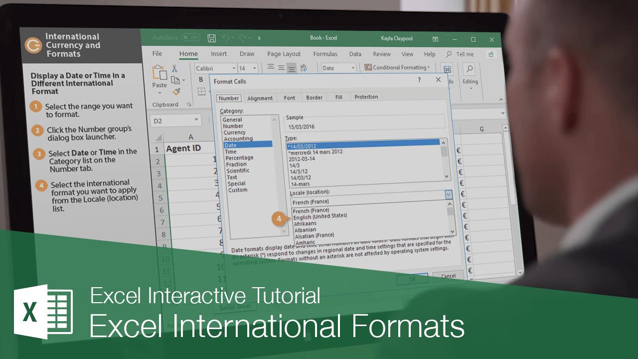 Excel International Formats