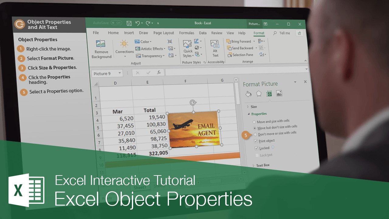 Excel Object Properties