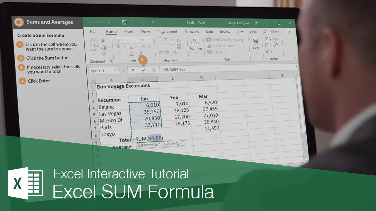 Excel SUM Formula