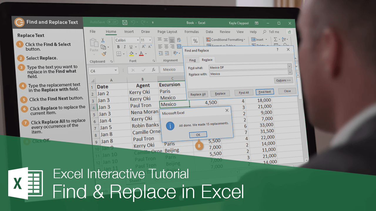 Find & Replace in Excel