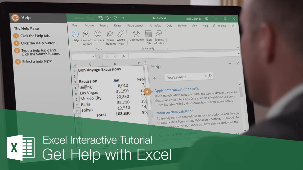 Get Help with Excel