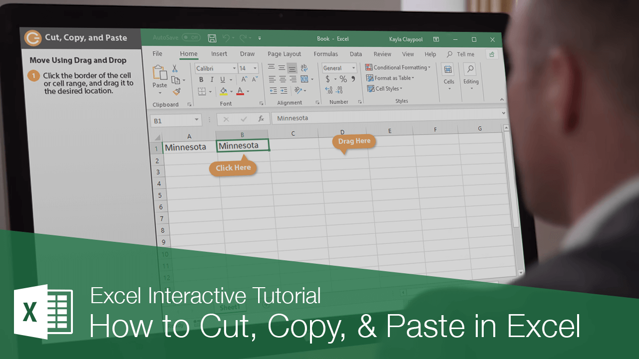 How to Cut, Copy, & Paste in Excel