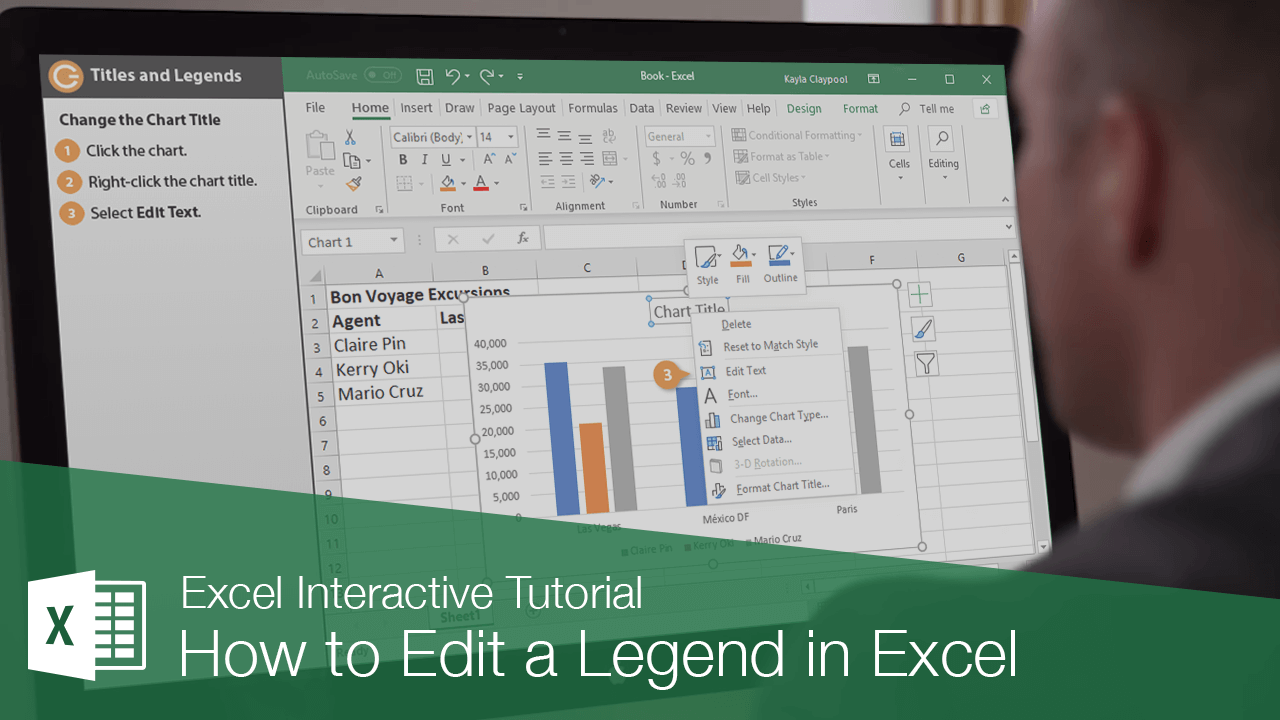 How to Edit a Legend in Excel