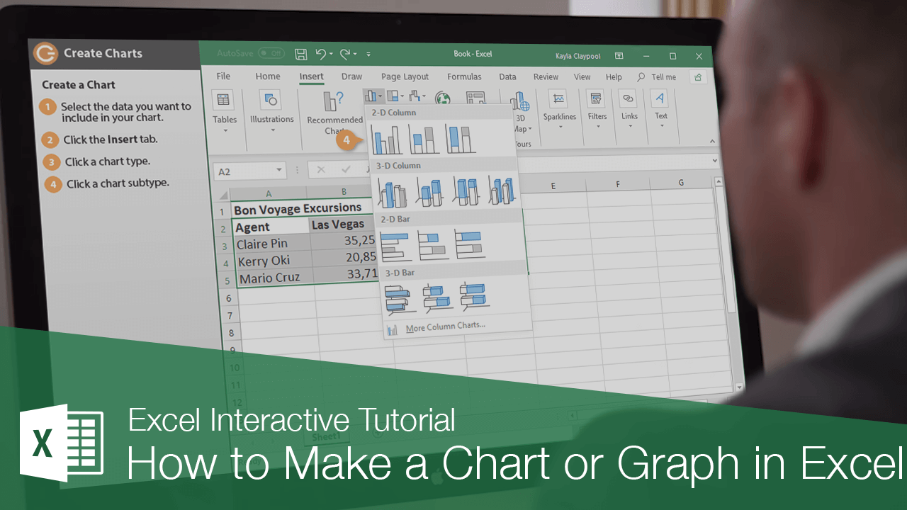 How to Make a Chart or Graph in Excel
