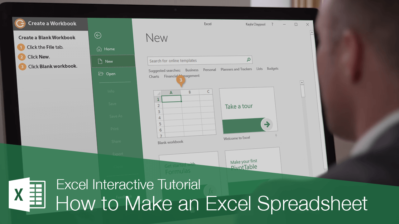 How to Make an Excel Spreadsheet