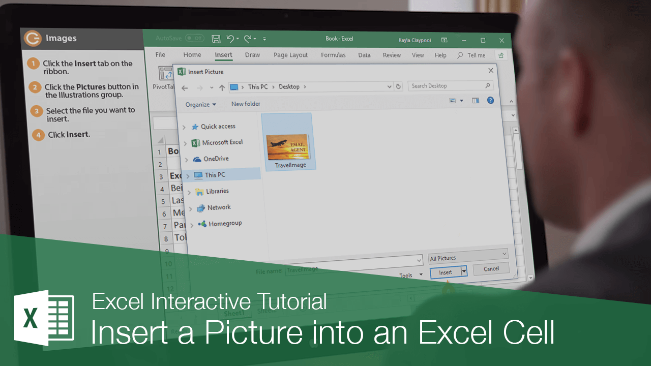 Insert a Picture into an Excel Cell
