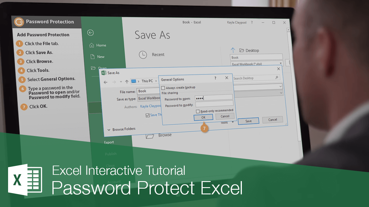 Password Protect Excel