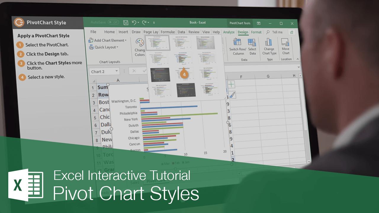 Pivot Chart Styles