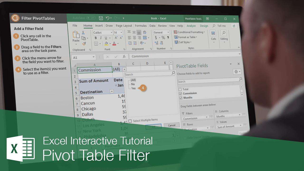 Pivot Table Filter