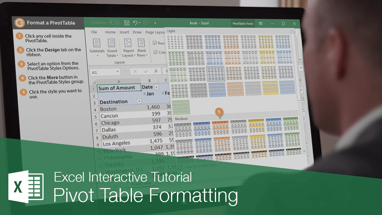 Pivot Table Formatting