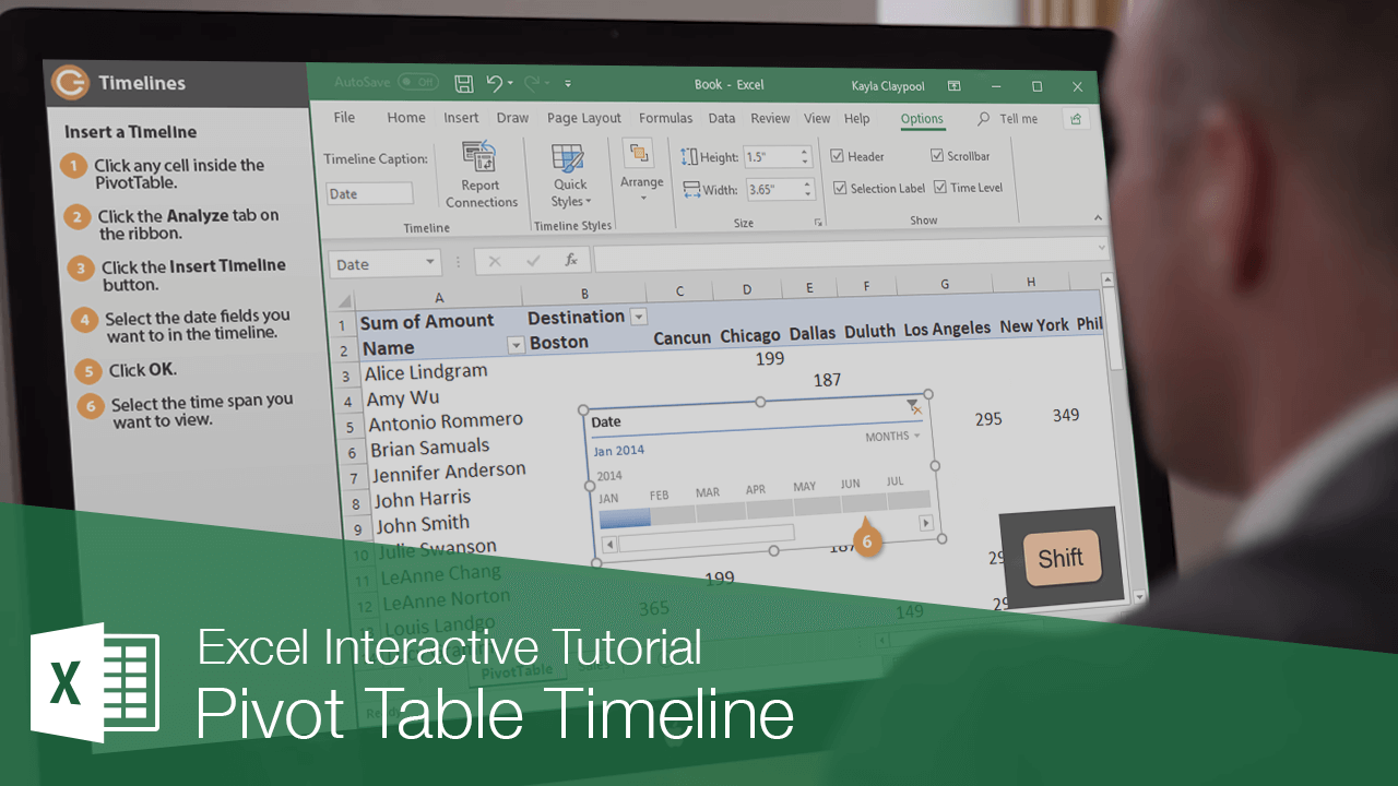 Pivot Table Timeline