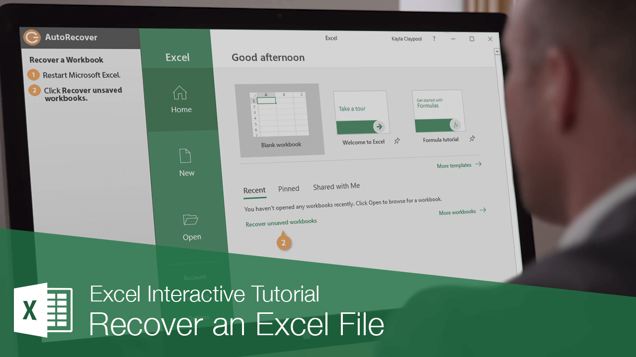 Recover an Excel File
