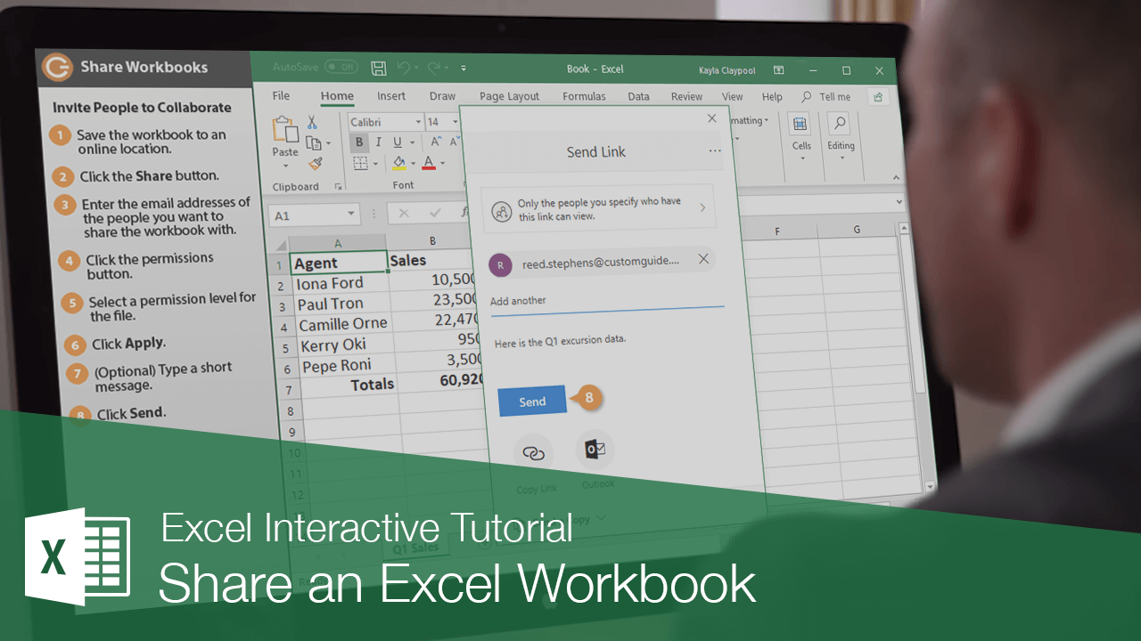 Share an Excel Workbook