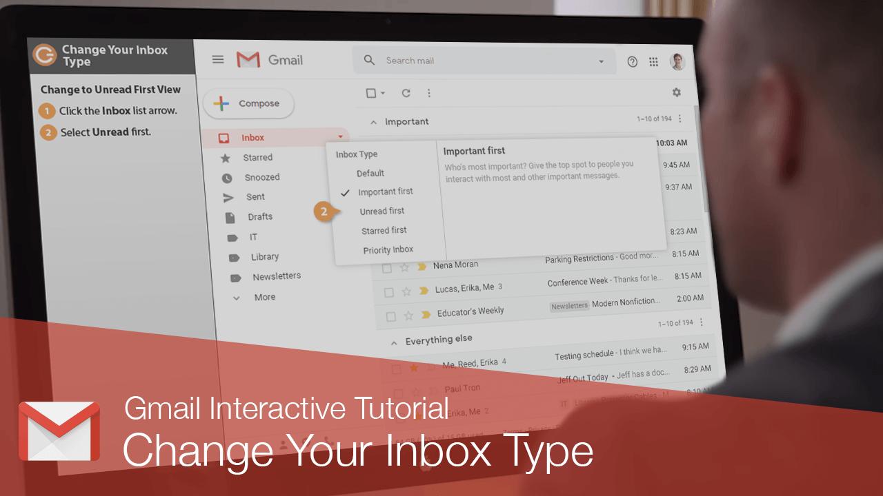 Change Your Inbox Type