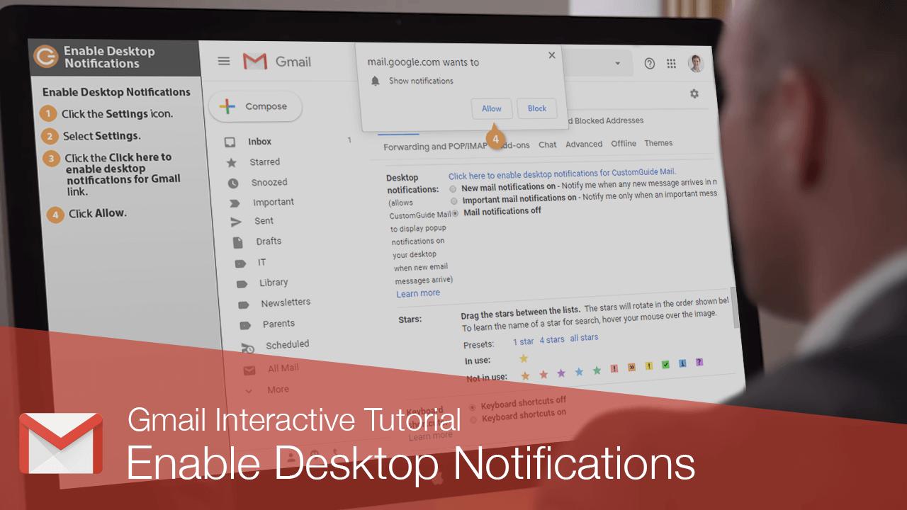 Enable Desktop Notifications