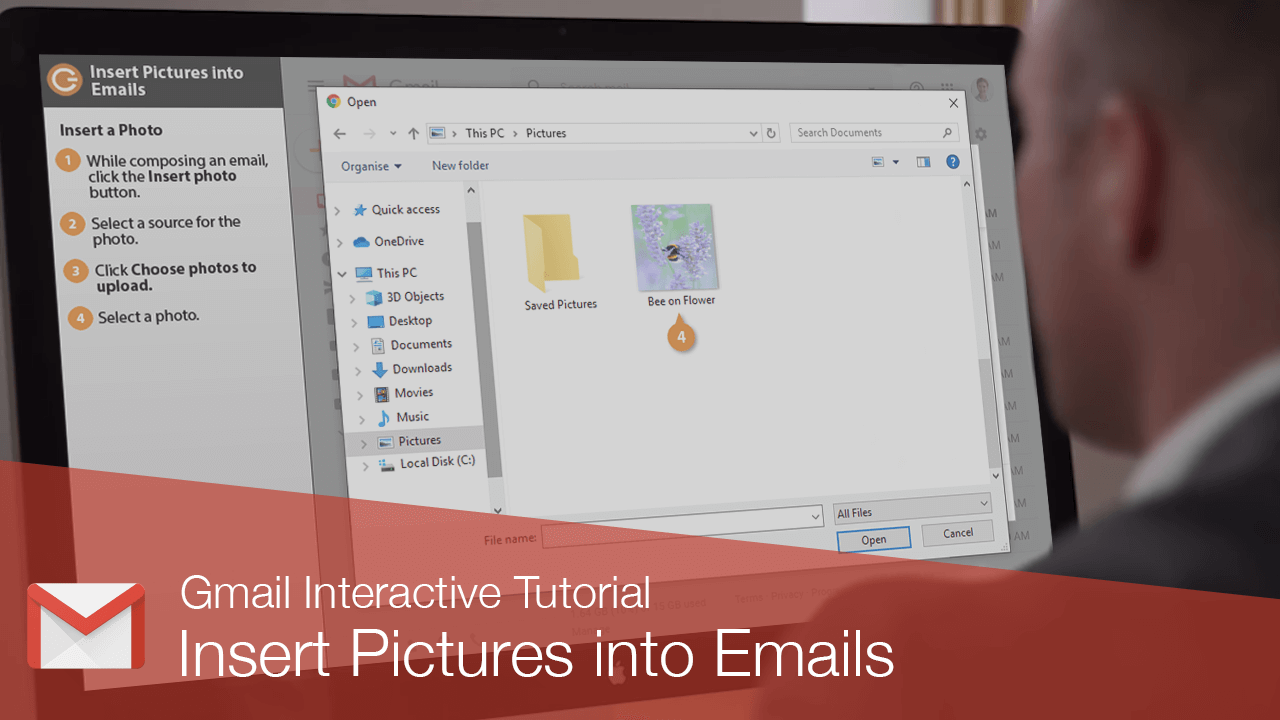 Insert Pictures into Emails