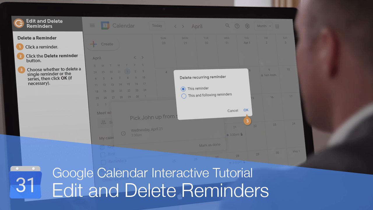 Edit and Delete Reminders