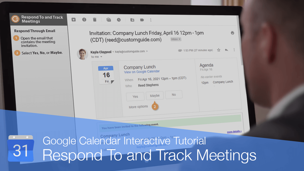 Respond To and Track Meetings