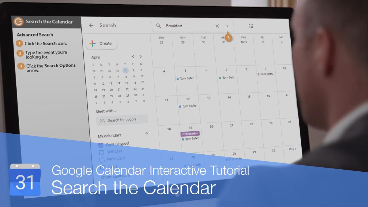 Search the Calendar