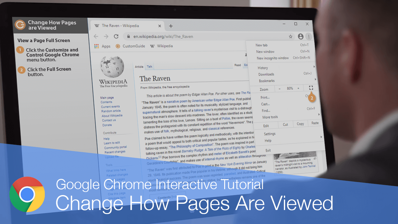 Change How Pages are Viewed