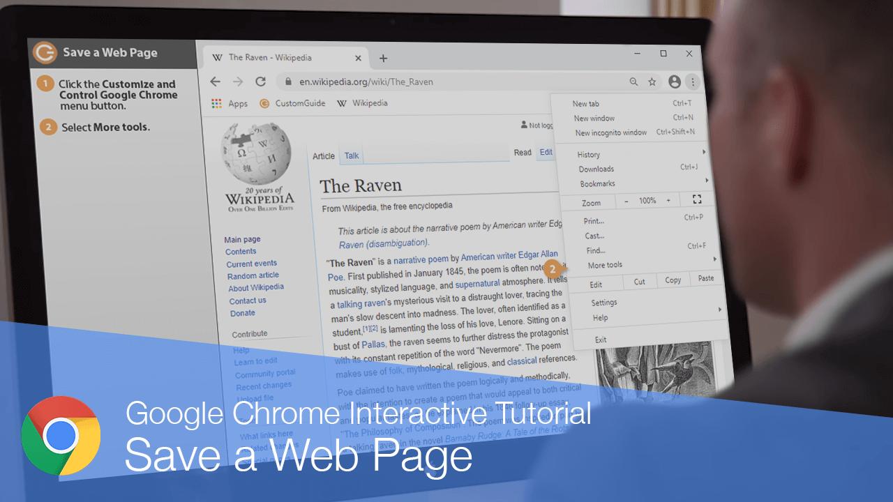 Save a Web Page