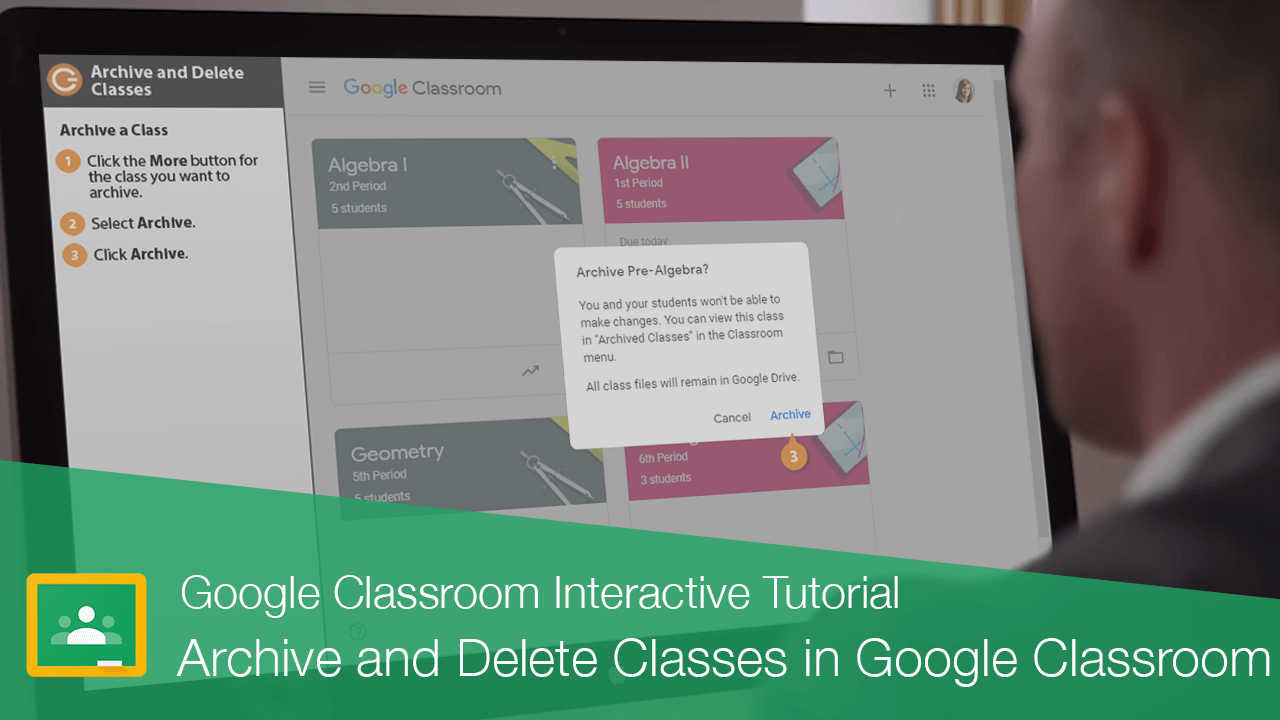 Archive and Delete a Class in Google Classroom